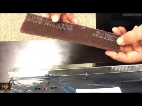 How to Clean the Weld Marks on the Lynx Asado Grill