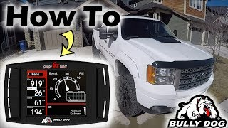 Duramax Diesel | HOW TO TUNE your BullyDog Chip (Changing tunes)
