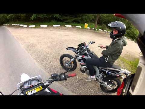 GO Pro derbi ride with derbi drd and senda