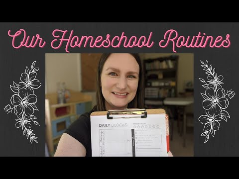 Let's Chat! Block scheduling our homeschool day!