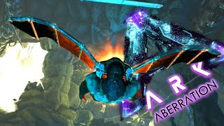 ARK ABERRATION! Wing Suit is AMAZING! ( Ark Aberration Gameplay Ep 5 )