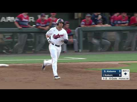 East Alabama Local News - Auburn Baseball Wins Midweek Game Against South Alabama