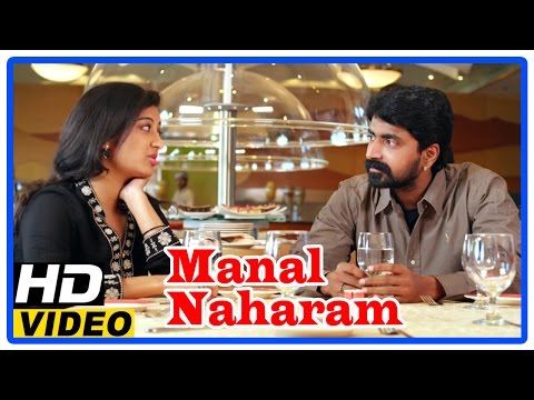 Manal Naharam Tamil Full Movie | Scenes | Prajin And Thanishka Meets At Restaurent | Jaise Jose