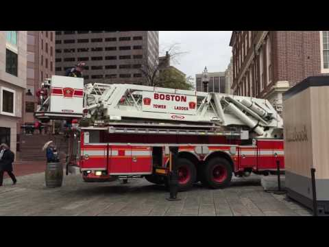 Faneuil Hall Fire Scare - October 27, 2016