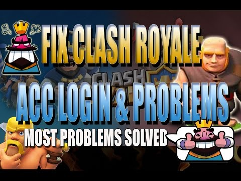 How to fix account login on Clash Royale and play store can't log in connect or error