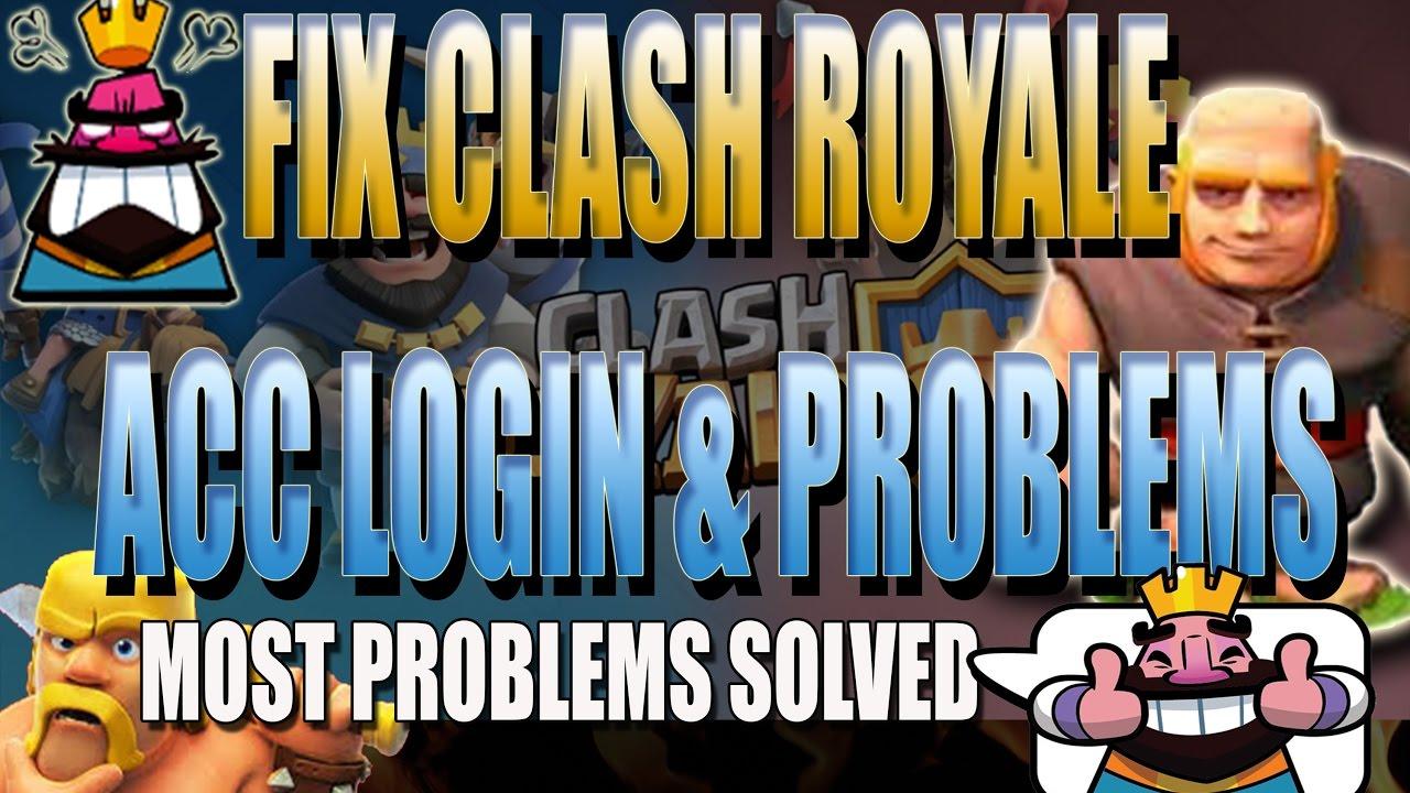 Clash royale probleme mit verbindung