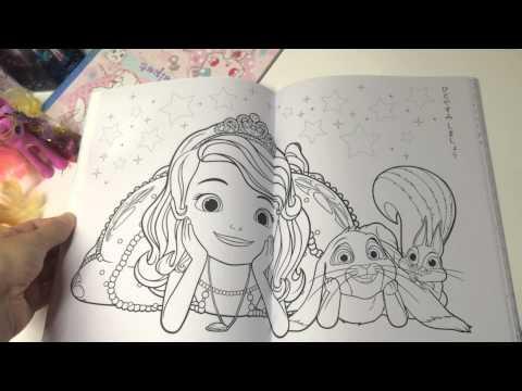 Картинки раскраски принцессы софии