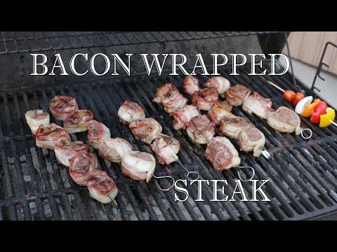 How To Make Bacon Wrapped Steak - Easy Steak Recipe