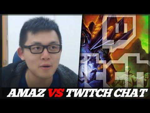 AMAZ VS TWITCH CHAT! (Amaz's Run)