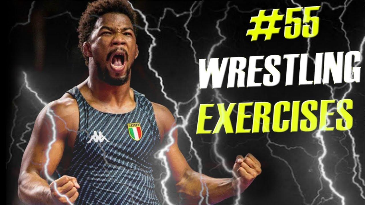 # 55 WRESTLING EXERCISES - 55 ejercicios de lucha olimpica