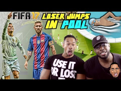 FIFA 17 Gameplay | LOSER JUMPS IN POOL w/ Eric Dunn