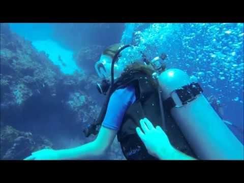 Brooklyn's First Ocean Dives - Cozumel 2013
