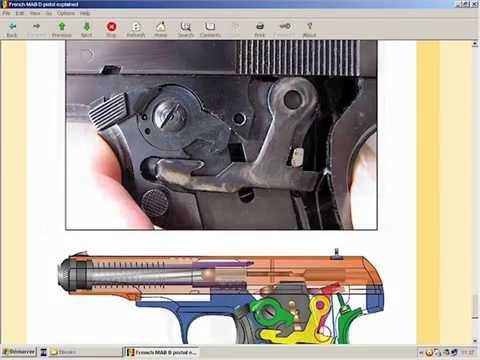 The French MAB D pistol explained - HLebooks com