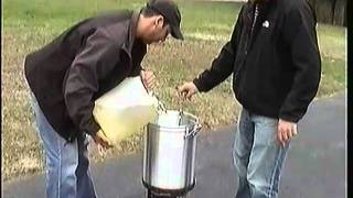 How To Deep Fry A Turkey The Proper Way. Safety And Prep Tips Included. Deep Fried Turkey Goodness