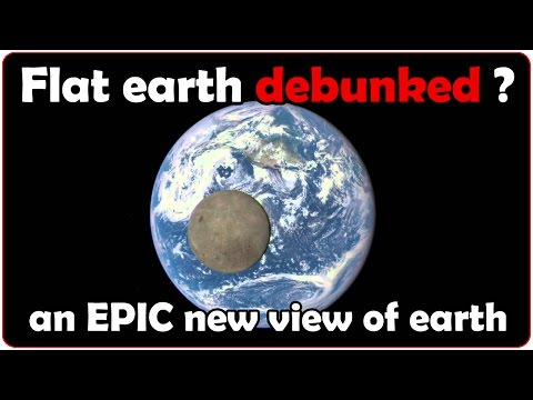 Flat earth debunked? An epic new view of earth by NASA!