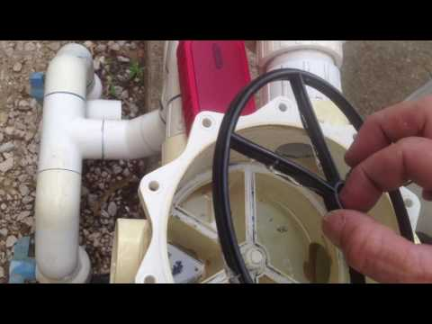 How to replace a Multiport gasket on pool equipment