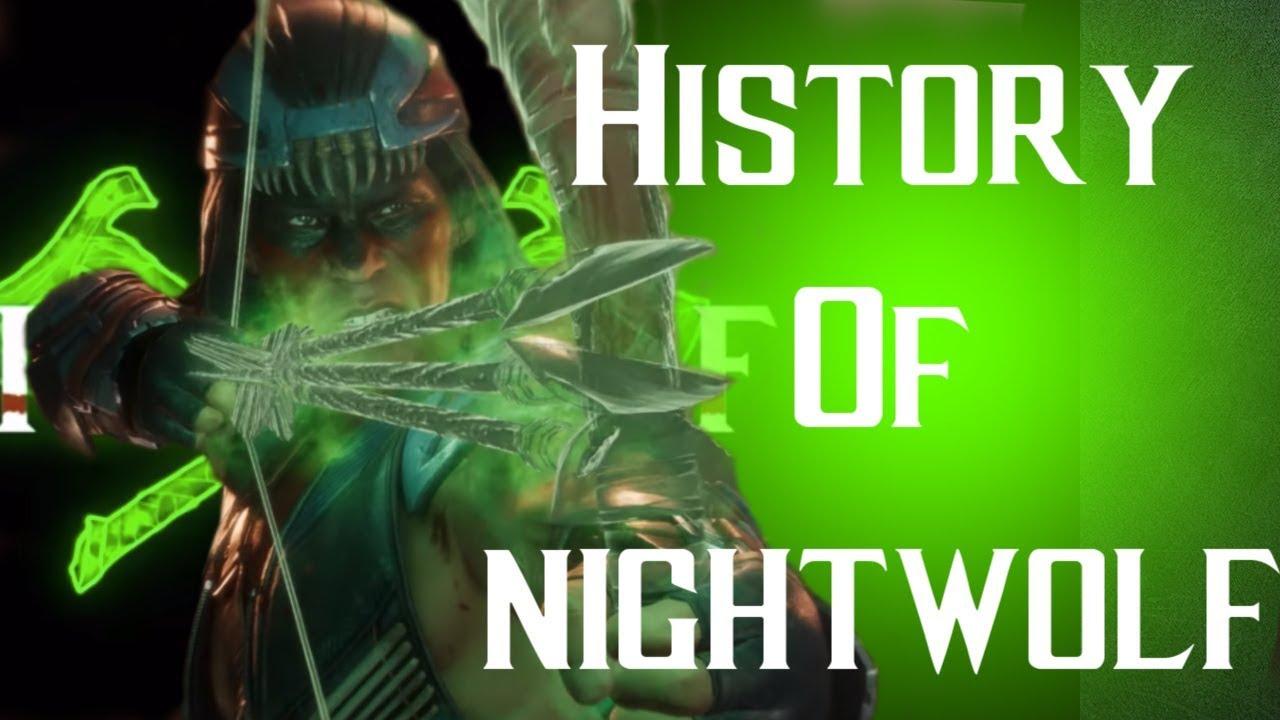 Download History Of Nightwolf Mortal Kombat 11 (REMASTERED)