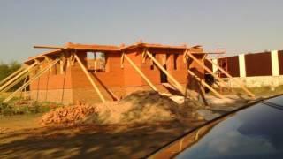 «Как мы строили двух этажный дом из облицовки»