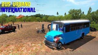 Bus Urbano International Mapa Mexico San Luis Potosi Charcas American Truck Simulator