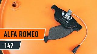 Πώς αλλαζω Τακάκια Φρένων ALFA ROMEO 145 (930) - οδηγός βίντεο