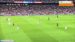 T14/15 J1 Liga BBVA: FC Barcelona 3-0 Elche CF (RAC1)