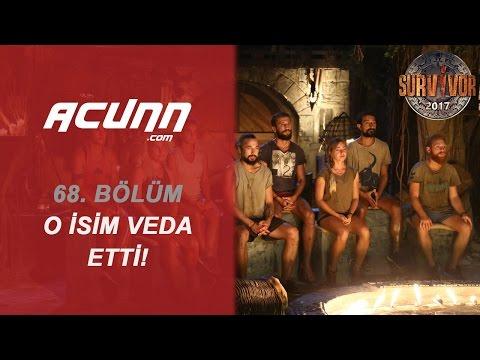 Survivor 2017'ye Veda Eden İsim Belli Oldu | Bölüm 68 | Survivor 2017