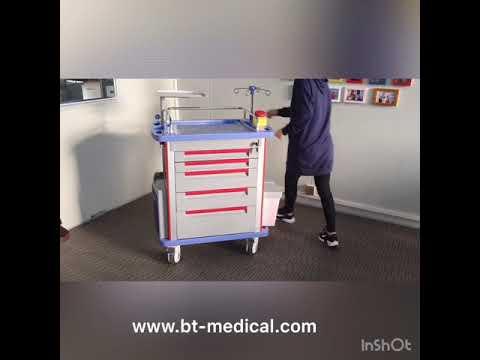 Hospital Ambulance Trolley Hospital Equipment Emergency Medicine Trolley