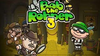 Bob The Robber 3 - Funtomic (2008) LTD Level6 Part2 Walkthrough