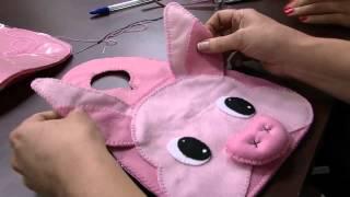 Lixeirinha para Carro Porquinha – Andrea Quagliato – Parte 2
