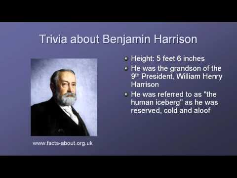 President Benjamin Harrison Biography