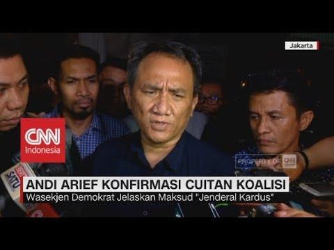 Andi Arief Konfirmasi Soal Cuitan Jenderal Kardus Jelang Koalisi Pilpres