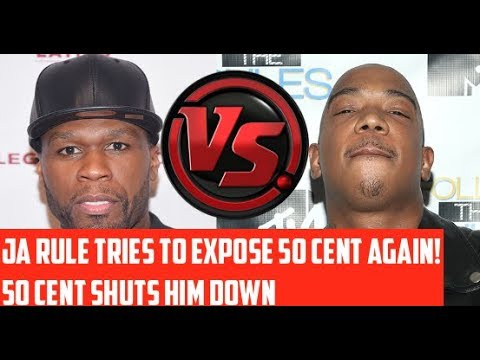 50 Cent Called out by JA RULE AGAIN! Tries to EXPOSE 50 Cent, 50 Cent Responds SHUTS HIM DOWN