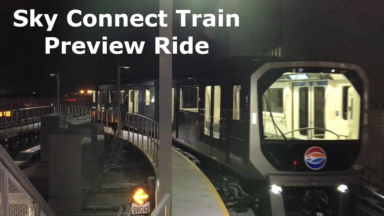 Tampa International Sky Connect Train Ride From Rent A Car