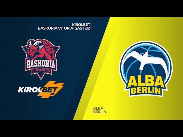 KIROLBET Baskonia Vitoria-Gasteiz - ALBA Berlin Highlights | EuroLeague, RS Round 28