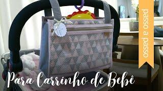 Nécessaire para Carrinho de Bebê – By Fê Atelier