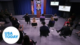 Pentagon holds briefing to provide update on COVID-19 (LIVE) | USA TODAY