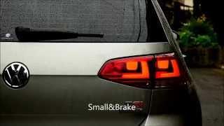 Volkswagen Golf VII 1.4 TSI Four Brake Lights  LED Tail Lamps