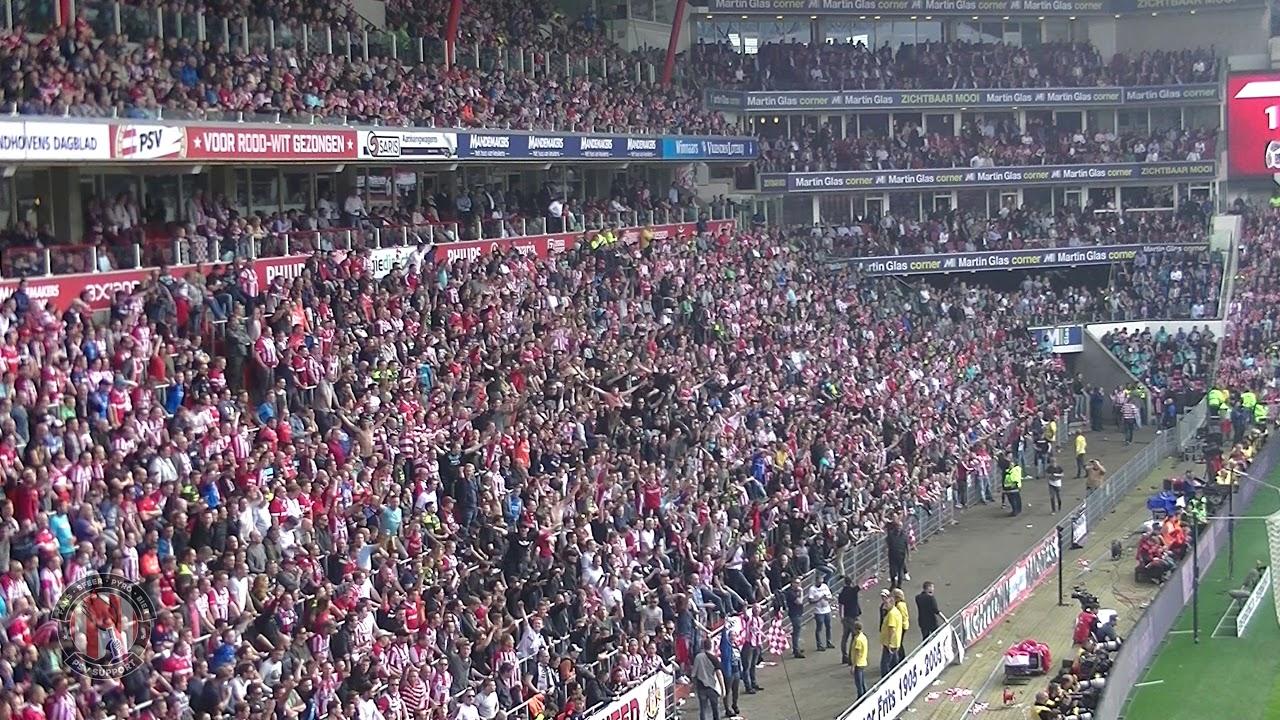 Wij Zijn Eindhoven Psv Ajax 15 4 2018 3 0 24 Kampioen Youtube