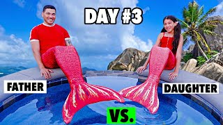 Who Will STOP Being A REAL MERMAID First?!! - Challenge **GONE WRONG** | Familia Diamond