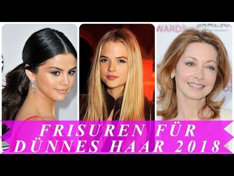 Beste Frisuren Fur Feines Haar 2018 Youtube