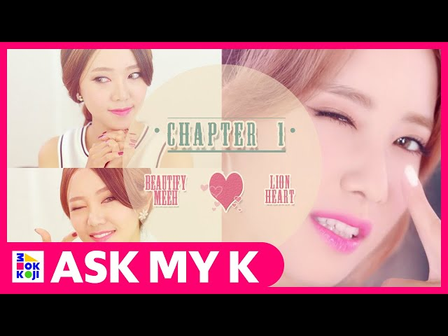 Ask My K : Beautifymeeh - Girl's Generation  'YOONA'  Lionheart Makeup