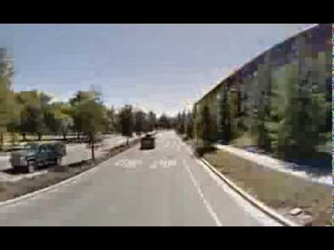 From Stanford to Cupertino ( infinite loop ) with Google Street View