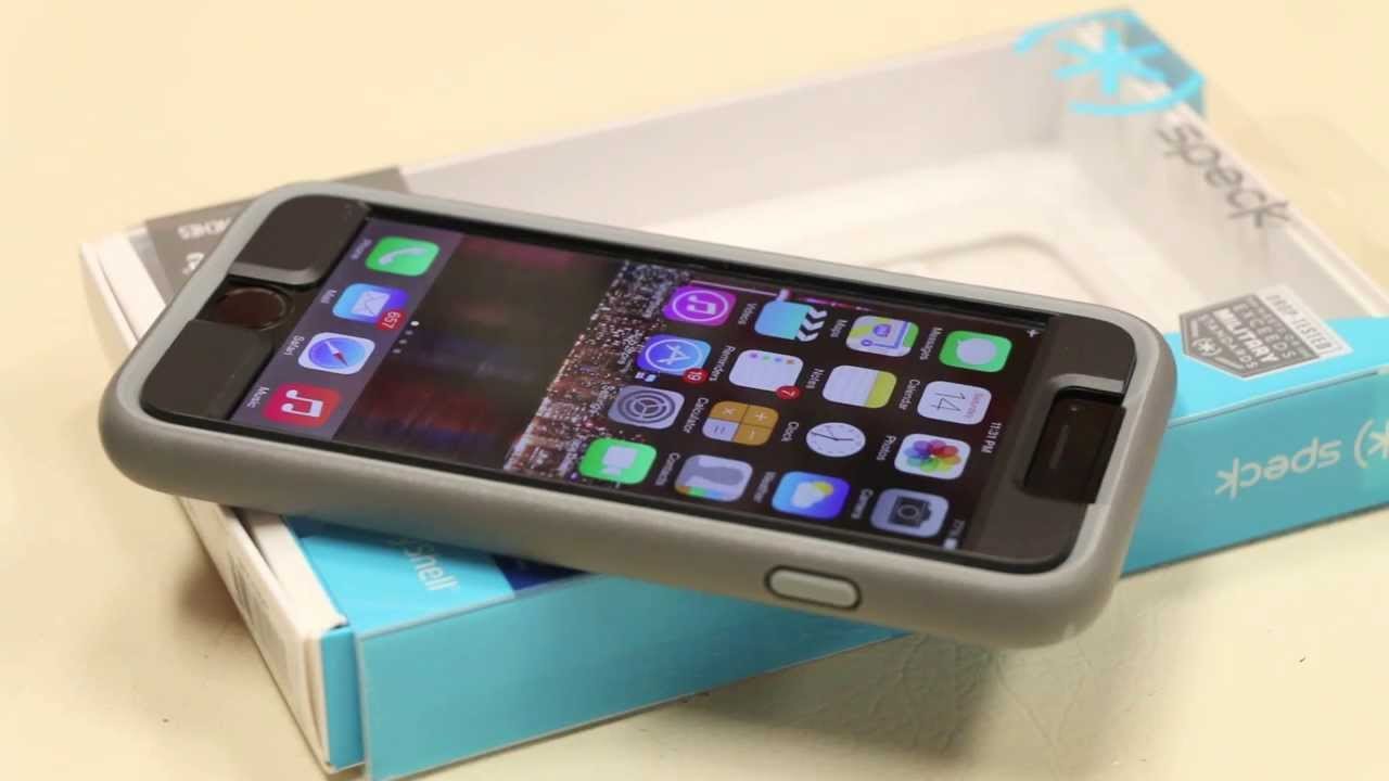 new style 6b61c 1296a Speck Mighty Shell + FacePlate - iPhone 6 / 6 Plus - In-depth Review