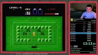The Legend of Zelda speedrun in 29:56 - World Record