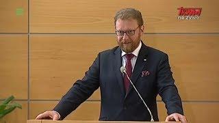 Inauguracja Roku Akademickiego w WSKSiM: prof. Łukasz Szumowski, minister zdrowia