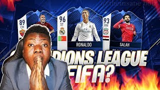 ROAD TO CHAMPIONS LEAGUE WITH JUNVENTUS!! (FIFA 19 EP1)
