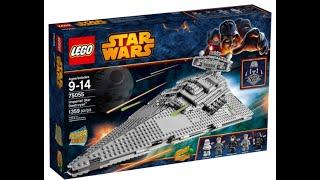 [Набор на обзор №1] Lego imperial destroyer. Лего имперский звездный разрушитель.