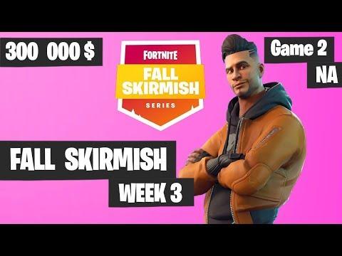 Fortnite Fall Skirmish Week 3 Game 2 NA Highlights (Group 2) - King Pin