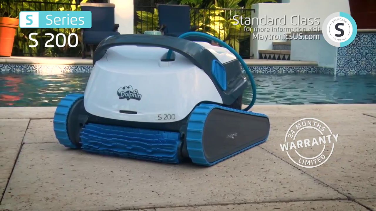 Bodensauger Pool Dolphin Dolphin S 200 Robotic Pool Cleaner By Maytronics