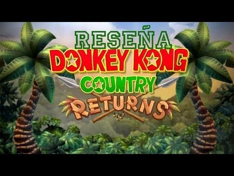RESEÑA de DONKEY KONG COUNTRY RETURNS (Wii)
